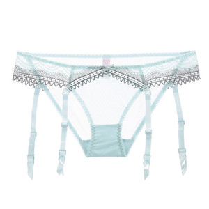Image 5 - Varsbaby sexy unlined underwire half cup lace underwear set 1 bras +2 panties 3 pcs/lots for lady