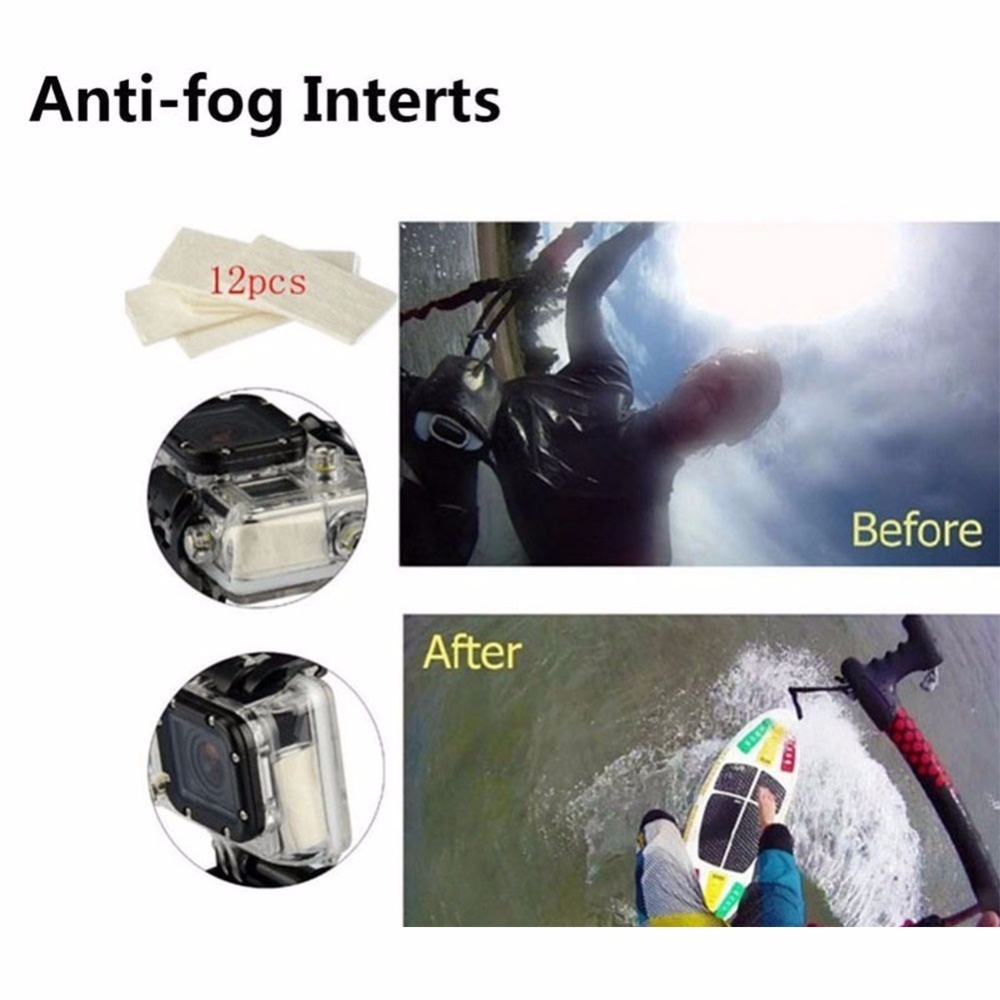 Anti-fog Insters for sport camera for xiaomi yi 4k