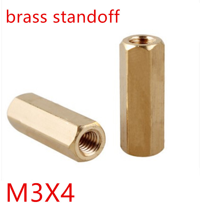 22mm Length, Pack of 10 M4-0.7 Screw Size Stainless Steel Hex Standoff 6mm OD Female
