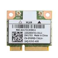 2020 New Bluetooth V4.0 Wifi Wireless Mini PCI-Express Card For Atheros AR5B225 DELL DW1703 CN-0FXP0D