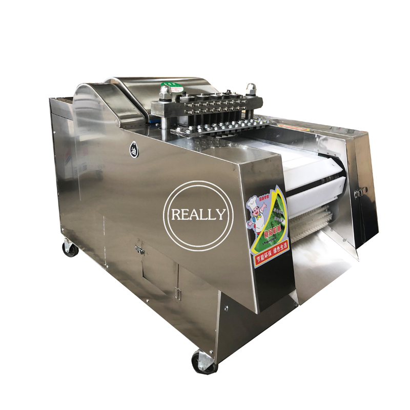 electric beef jerky cutter machine/fish meat cube cutting machine image