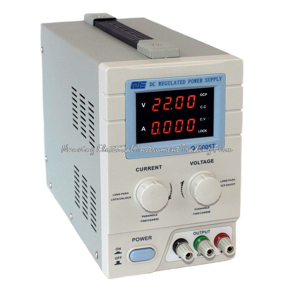 fast arrival QJE computer/phone/SPC programmable adjustable DC power supply QJ3005T Single phase 0~30V 0~5A resolution 10mV 1mA cps 6011 60v 11a digital adjustable dc power supply laboratory power supply cps6011