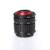 ROJO Color de Montaje de Metal AF Enfoque Automático Tubo de Extensión Macro Set para Nikon Cámara envío gratis