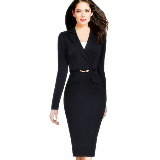 Women Dress Suit 2017 Ladies Evening Suits Autumn Dress Suits Slim ...