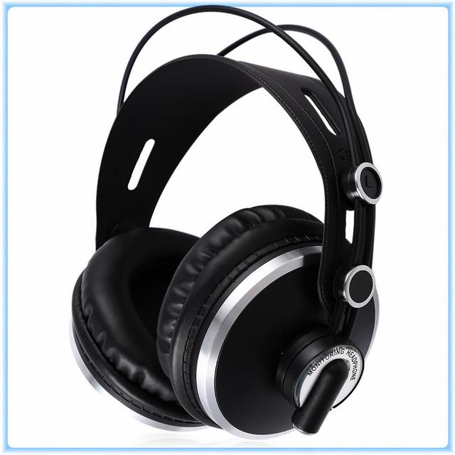Original ISK Para HP-980 Auriculares Monitor Profesional DJ Estéreo Dinámico Auriculares HD Auriculares Con Aislamiento de Ruido Auriculares Auriculares