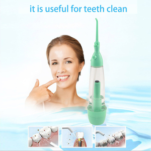 Image 3 - Oral Irrigator ทำความสะอาดฟัน Water Jet Tooth สุขภาพน้ำ Non Electric Oral Irrigator Flossing Flosse