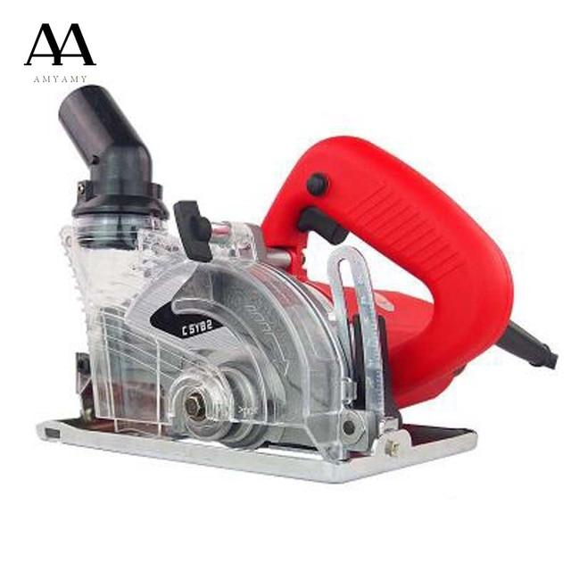 AMYAMY High power stone saw electric saw dustproof design for stone tile cutting cutter machine 1800W 220V EU Plug