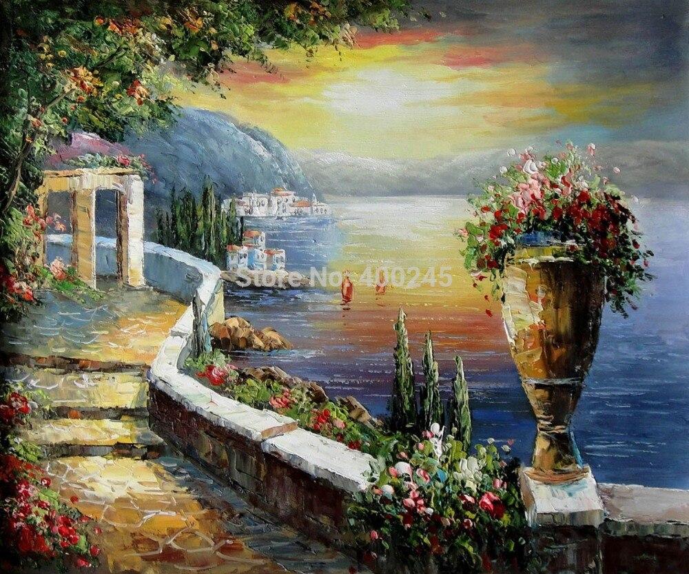 Landscape Oil Painting Canvas Art Deocrative Painting