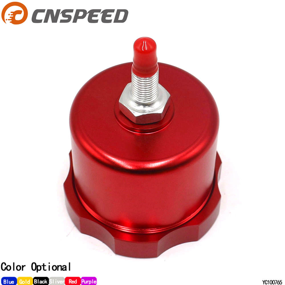 CNSPEED Car racing Hydraulic Drift Handbrake Oil Tank for Hand Brake Fluid Reservoir Oil catch can Hand brake cap YC100765-RD