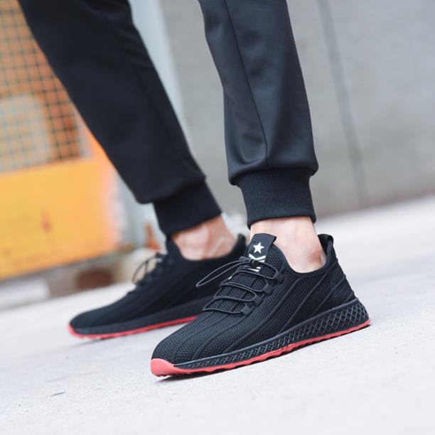 De Loisirs Puant Noir Hommes Marée Summer Lumière Chaussures New Confortable 2018 Respirant q7Stt