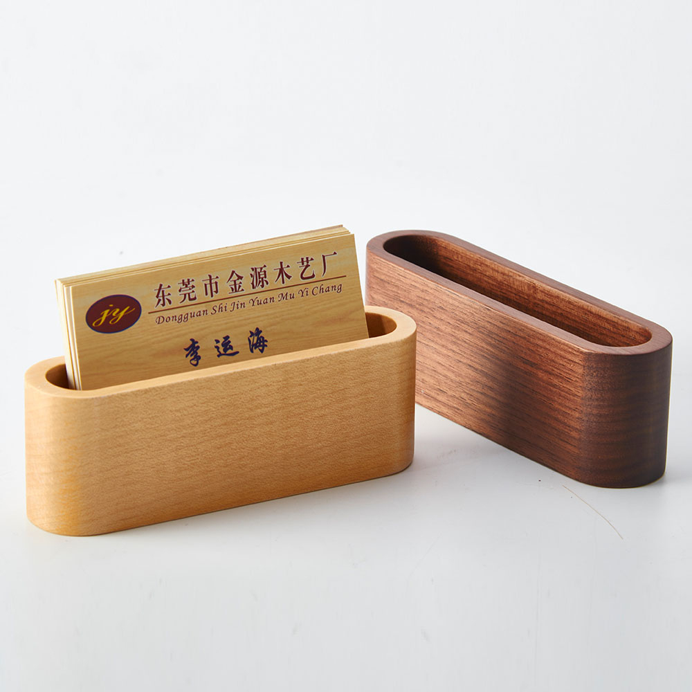 Creative wood business card box name card holder desktop jewelry creative wood business card box name card holder desktop jewelry wooden storage boxa309 in home office storage from home garden on aliexpress reheart Images
