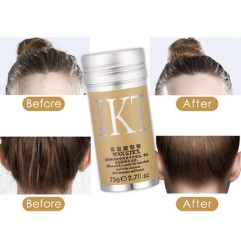Professional Hair Wax Finishing Cream Hair Styling Stick Not Greasy Rapid Short  2019