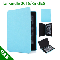 Free DHL High Quality Slim PU Leather Protective Case For Amazon Kindle 2016 Kindle8 K8
