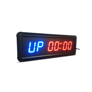 free shipping 1.5 GYM Crossfit Timer LED Interval Timer Training Time And Rest Time Alternate CountdownCount up As A Stopwatc(China)