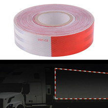 5cmx10m Bicycle Stickers DOT-C2 Diamod High Intensity Reflective Trailer Tape Cycling For Bike