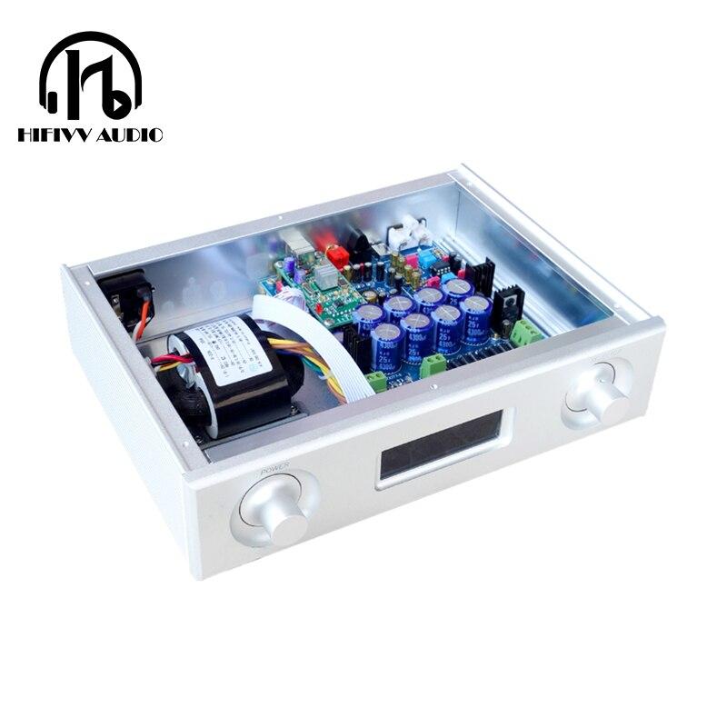 WunderschöNen Dac Für Audio Verstärker Decoder Ak4495seq Xmos U208 Usb Karte 192 Khz/24bit Ak4495 Upgrade Pcm1794 Dinge Bequem Machen FüR Kunden Ak4118