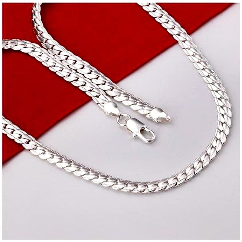 Fashion New Male Silver Chain Bracelet Men Pulsera Rose Gold Bracelet For Women Jewelry Female Accessories Love Gift Bijoux in Chain Link Bracelets from Jewelry Accessories
