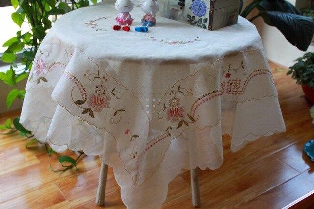 Cm moderne vierkante satijn kerst tafelkleed handdoek thee