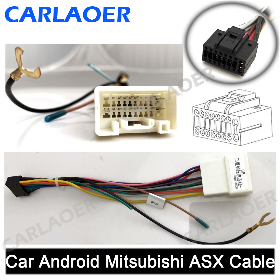 Car Android Mitsubishi ASX Cable