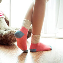 Women's Socks with Rabbit Wool