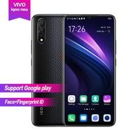 Vivo iqoo Neo Android 9.0 6.38 AMOLED Full Screen 1080*2340 Octa core 6g 128g 4500mAh Face+Fingerprint ID 22.5w Flash charge