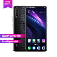 Vivo iqoo Neo Android 9.0 6.38 AMOLED plein écran 1080*2340 Octa core 6g 128g 4500mAh visage + identification d'empreintes digitales 22.5w charge Flash