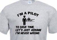 2018 Manica Corta In Cotone Uomo Abbigliamento Top T shirt Homme Pilota Up Aereo Aereo Elicottero Drone Simulatore di Controllo Libro Tee