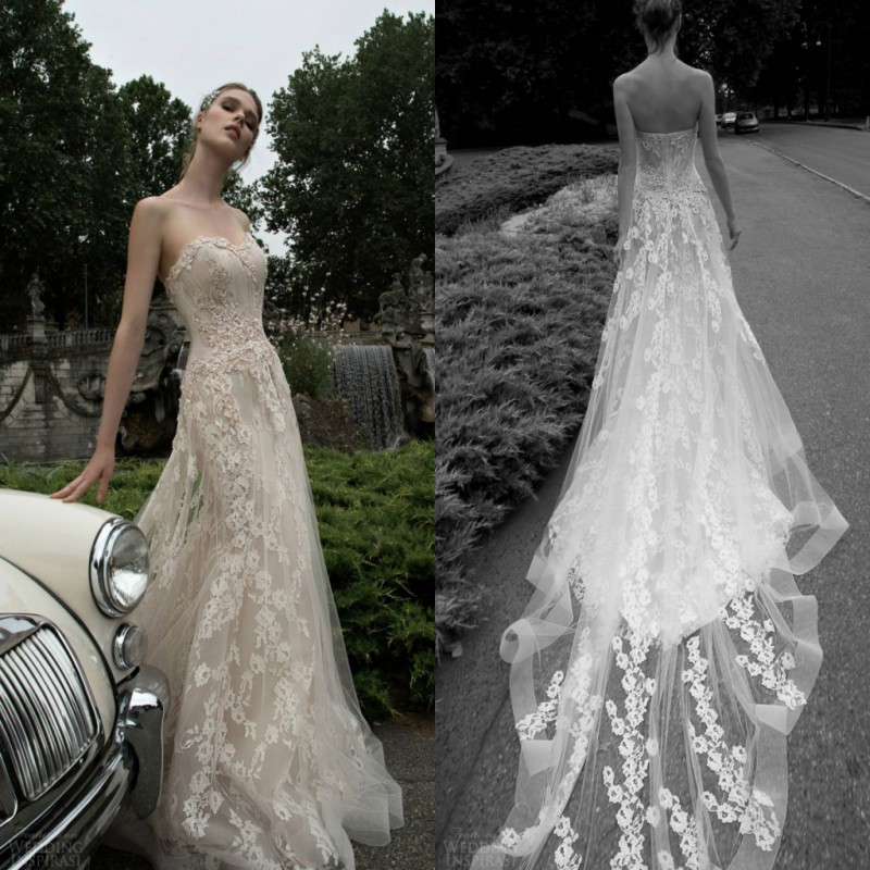 Alessandra Rinaudo Designers Elegant Bridal Gown 2018 Spring Garden Long Appliques Sweetheart Lace Mermaid   bridesmaid     dresses