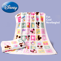 Disney Mickey Mouse Baby Kids Bath Towel Face Towel Soft Cartoon Children Boy Girl Infant Toddler Newborn Lovely Washcloth Wipe