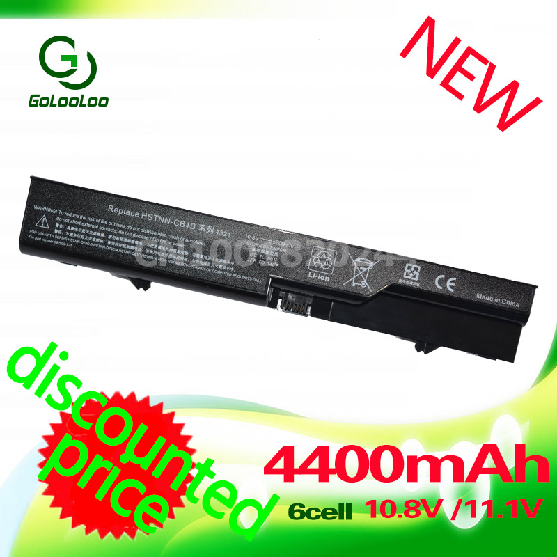 Golooloo 4400MaH battery for HP PH06 420 425 4320t 620 625 ProBook 4525s 4325s 4320s 4321S 4326s 4420s 4421s 4425s 4520s PH09Golooloo 4400MaH battery for HP PH06 420 425 4320t 620 625 ProBook 4525s 4325s 4320s 4321S 4326s 4420s 4421s 4425s 4520s PH09