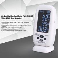 Smart Сенсор качества воздуха монитор счетчик газа PM2.5 HCHO TVOC TEMP детектор анализатор портативный тестер Температура влажность тестирование