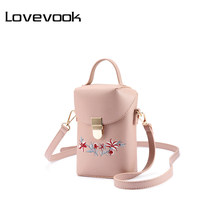LOVEVOOK women handbags female shoulder crossbody bags ladies large mobile phone bag for girls small messenger bag school 2019(China)