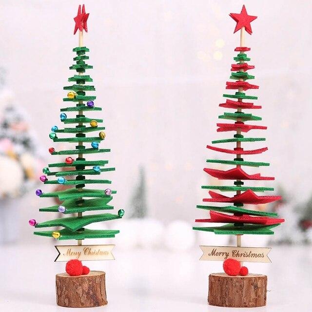 Christmas Decorations Felt Cloth Fabric Christmas Tree Decoration
