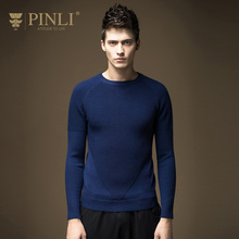 Sweater Men Time-limited O-neck Standard Pullovers Pinli 2016 Autumn New Arrival Men's Clothing Slim Sweater Male S16311608