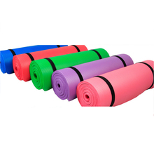 10mm Thick 5 Color NBR Yoga Mat Non-Slip Body Building Health Lose Weight Exercise Gym Household Cushion Fitness Pad