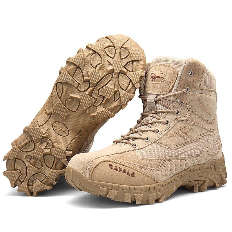 Брендовые мужские ботинки в стиле милитари, тактические Мужские ботинки в армейском стиле, большие размеры, мужские ботинки в стиле «милита...