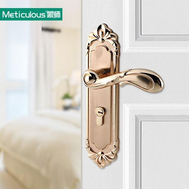 Online Shop Meticulou Interior Door Lock European design zinc ...