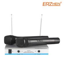 Vente chaude Sans Fil Mic Professionnel Microphone Sans Fil Système R-V100 Haute Qualité Sans Fil Microphone
