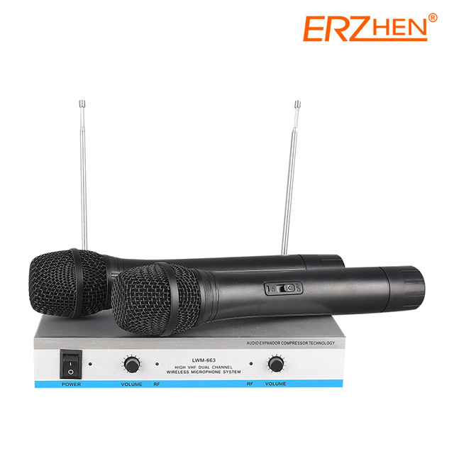 Hot Selling Wireless Mic Professional Wireless Microphone System R-V100 High Quality Wireless Microphone