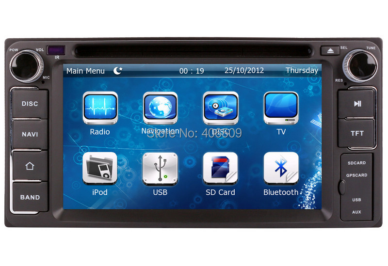 2011 Toyota Camry For Sale >> 2 Din Head Unit Car DVD Player for Toyota RAV4 Camry ...