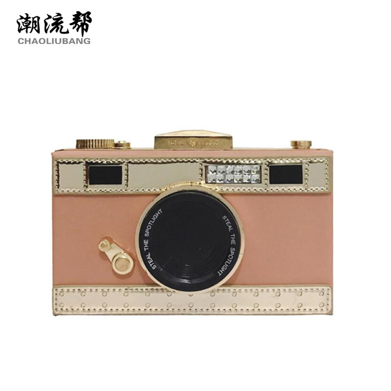 CHAOLIUBANG funny women's leather handbags camera shaped mini crossbody bags for women panellet shoulder clutch purse summer sac chaoliubang novelty women leather handbags letters printing wings flap bag mini crossbody bags for women shoulder purse sac a