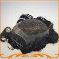 Бесплатная Доставка база 7*9 дюймов 100% remy волосы парик невидимый узел французский шнурок с пу мужской волос замена