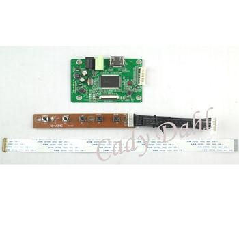 "Placa controladora LCD HDMI para 12,5 ""N125HCE-GN1 LP125WF2 SPB1 SPB2 1920x1080 EDP Signal 2 carriles 30 pines panel de pantalla LCD"