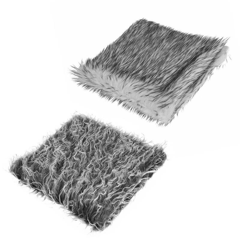 Newborn Baby Infant Fur Imitation Rug Soft Blanket Carpet Photography Background Props