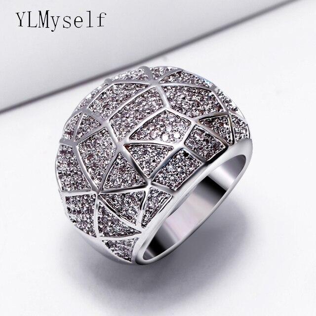 Fashion big rings for women 2018 new Designer jewelry anel feminino