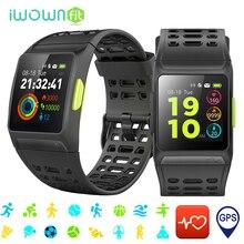 iWOWNfit font b Smart b font font b Watch b font GPS IP67 Waterproof Heart Rate
