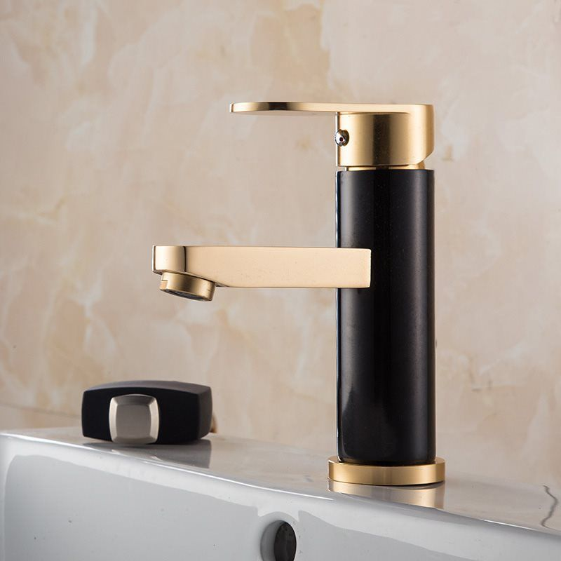 HTB1LfyucRiE3KVjSZFMq6zQhVXaS Luxury Bathroom Basin Faucet Space Aluminum Cold and Hot Water Mixer Tap Deck Mounted Single Handle Crane Washbasin Sink Faucet