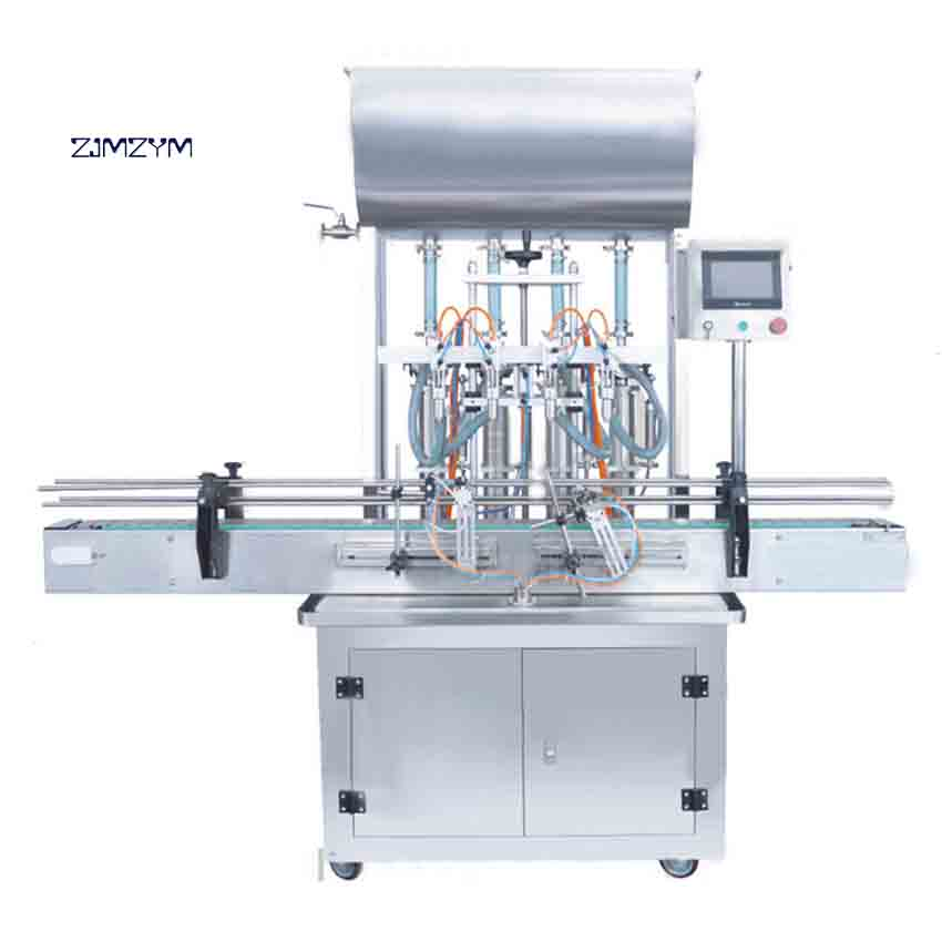 New Arrival G4WY Professional 6 Heads Automatic Filling Machine Paste Liquid Mineral Water Filling Machine 0.4-0.6MPA 90-320MM