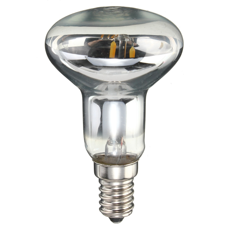 Vintage Edison Bulb LED Light E14 R50 2W 200 Lumen Retro Energy Saving Lamp Spotlights Bulb Pure Warm White Lighting AC220V