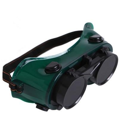 Welding glasses anti-glare goggles labor insurance dust mirror clamshell workers anti-UV protective glasses glare 30